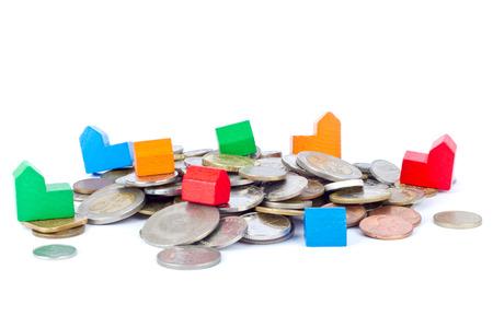 Spielplätze auf Münzen Standard-Bild - 26535725