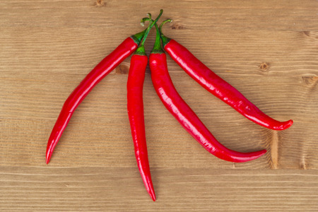 Four Red Hot Chili Peppers Standard-Bild - 26547363