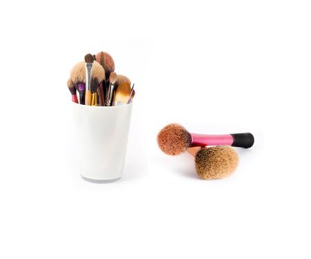 make up brushes: Make up brushes Stock Photo