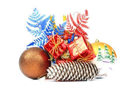 Christmas composition Stock fotó
