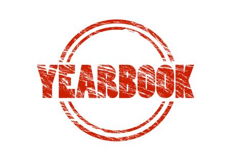 yearbook sign Stock fotó