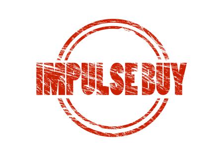 impulse buy sign Archivio Fotografico