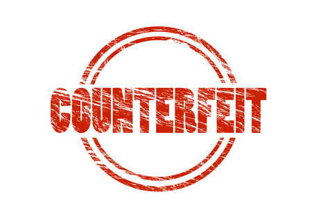 counterfeit sign