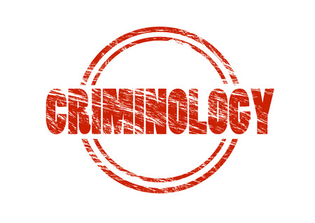 Criminology stamp