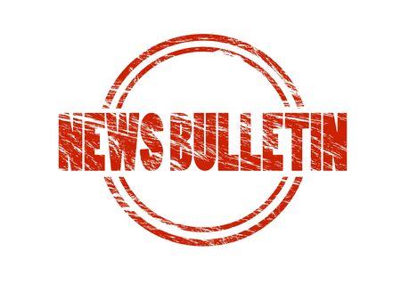 News bulletin stamp