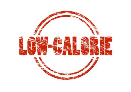 low calorie sign