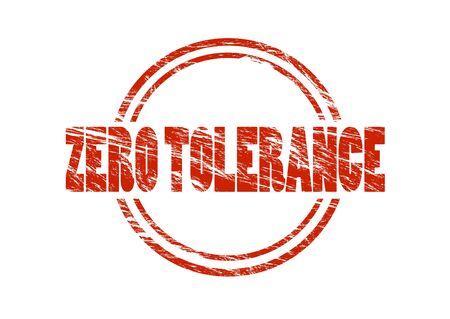 Zero tolerance stamp