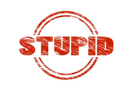stupid stamp