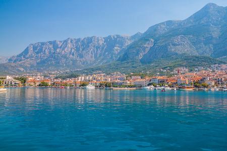 Marina, Makarska city. croatia
