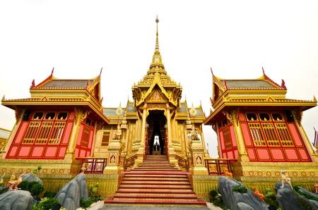 bejaratana: BANGKOK, THAILAND - APRIL 11: The Royal Cremation Ceremony of Prince Bejaratana Rajasuda Sirisobhabannavadi. Members of the Sanam Luang, Bangkok, Thailand. April 11, 2012