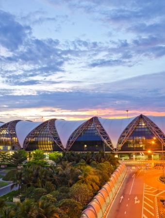 BANGKOK - MARCH 8: Suvarnabhumi Airport  is the world Editorial