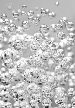ox�geno: Detalle de la burbuja abstracta, se puede utilizar para el fondo
