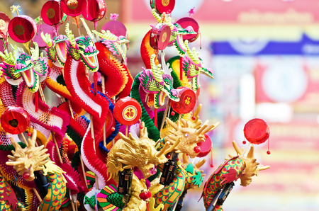 head toy: Colorful chinese dragon toy