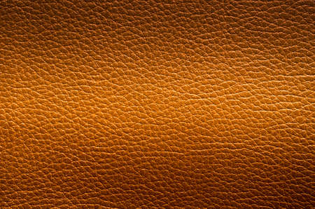 Brown leather texture closeup, can be used for background Stock Photo