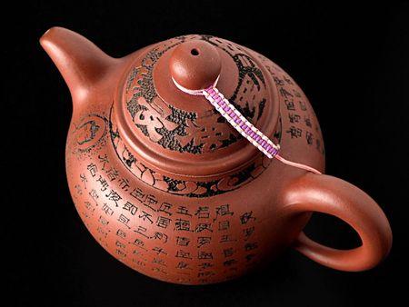 chinese tea pot: Olla de t� chino