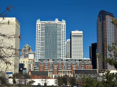 charlotte: Some tall buildings in Charlotte North Carolina