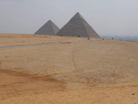 egyptian pyramids: Egyptian pyramids in Giza