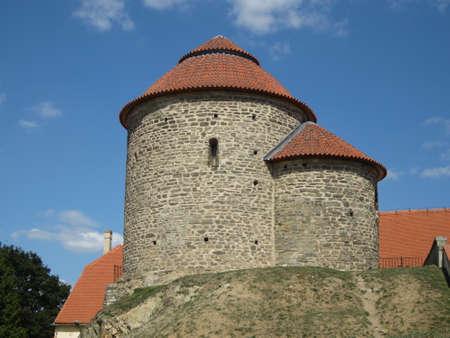 Rotunda of St. Catherine in Znojmo, Czech Republic Stock Photo