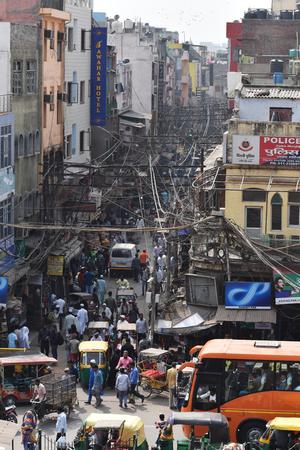 Street of Old Delhi, India