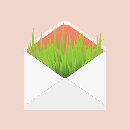 envelope icon: ecology envelope icon