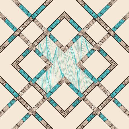 crisscross: seamless geometric design. abstract pattern with criss-cross stripes