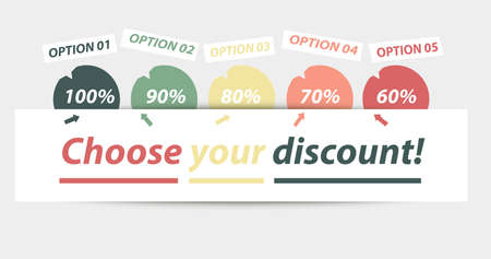 Choose your discount for free