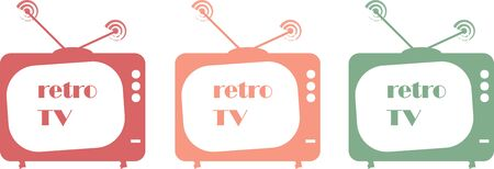Retro televison Illustration