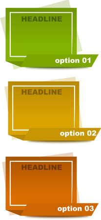 textbox: Three creative columns Illustration