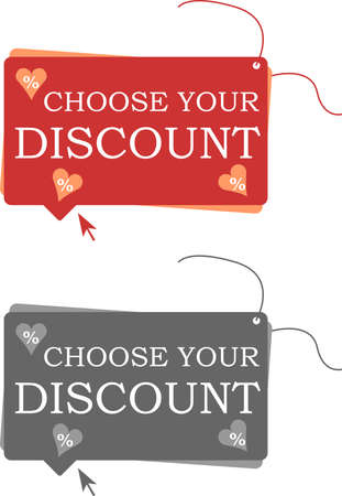Labels with discount