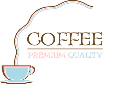 Coffee  premium quality retro design Vector