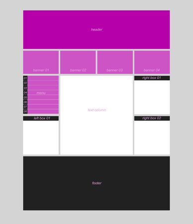 responsive: website responsive template Illustration