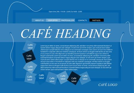 responsive: responsive web layout template for restaurant