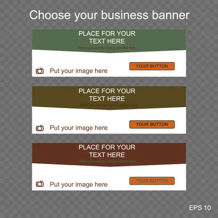responsive: responsive web banner for business or non-profit organization