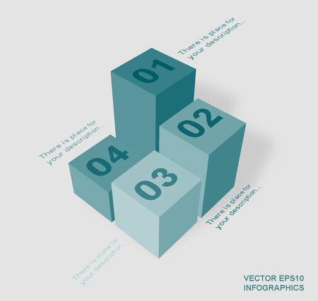 columns: creative vector infographics columns Illustration