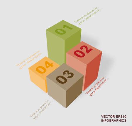 creative: creative vector infographic columns