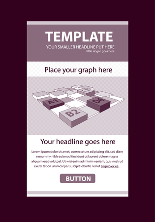 article marketing: Corporate vector layout templates for business or non-profit organization with infographic columns Illustration