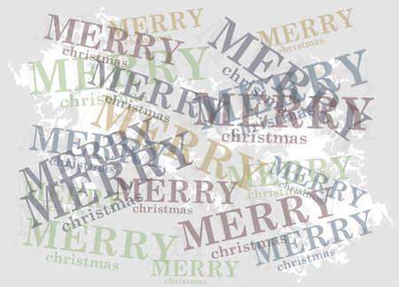 vector minimalist christmas background
