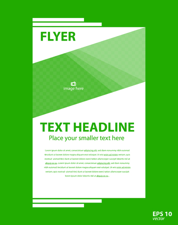Brochure template flyer for business, design, education, presentation, website, magazine page.
