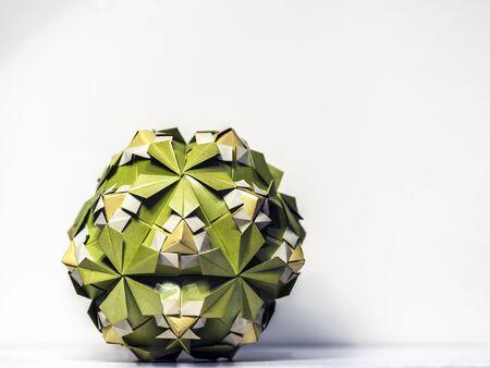 Big origami paper work