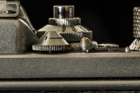 tiefe: Old Kamera Makro Detail