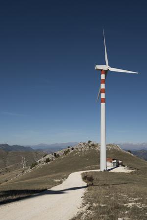 mountain wind turbines