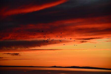 fortuna: The beautiful Fortuna sunset