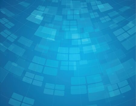 background designs: Abstract squeare blue sky background