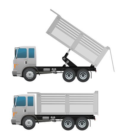 dumping: Turck dump and dumping ten wheel