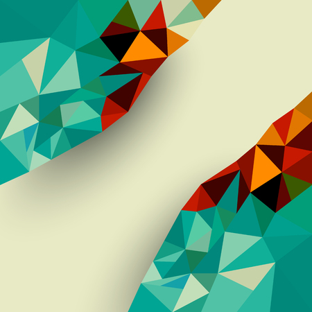 low: Low polygon abstract background
