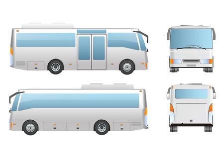 coach bus: Bus mock up design
