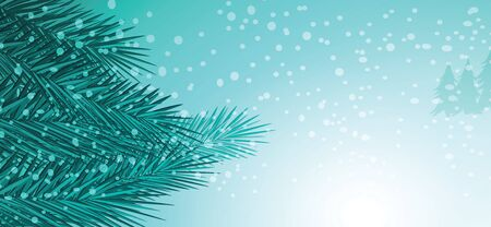 ice: Winter and chritmas background vector design