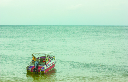 Boat on the sea of thailand