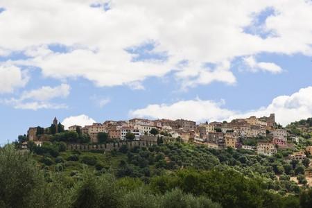 Medieval town in Tuscany, Massa Marittima