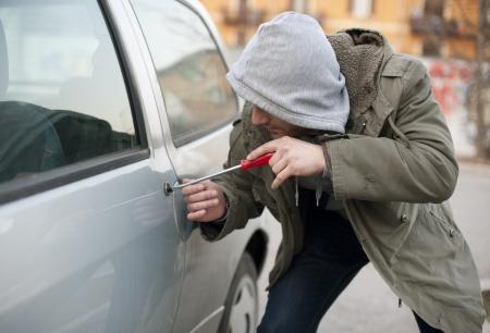 アクションの車泥棒